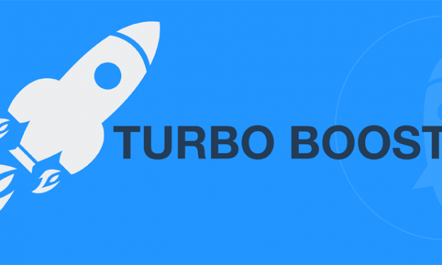 GIVE YOUR SUCCESS A TURBO BOOST