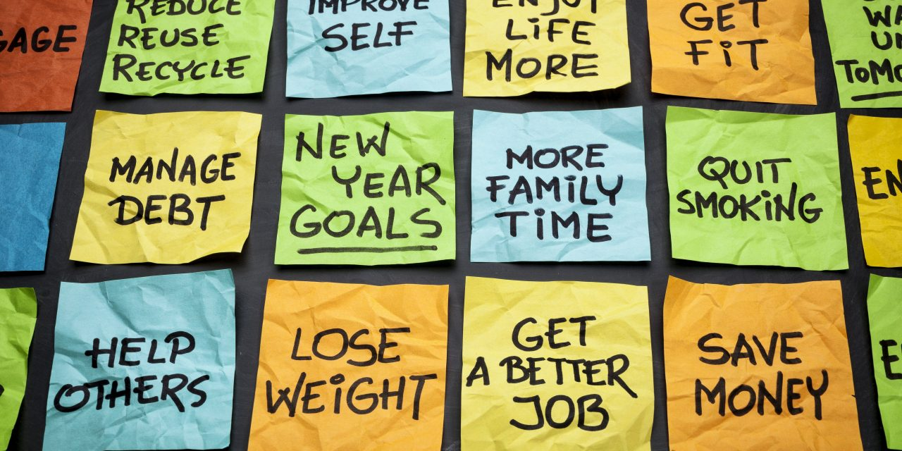 HOW ARE YOUR NEW YEAR RESOLUTIONS GOING?